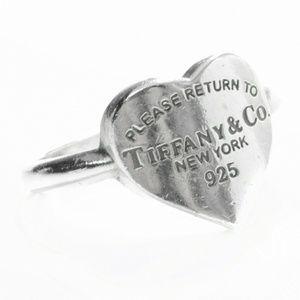Rare Tiffany Heart Ring